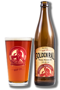 Golden Rail Honey Brown