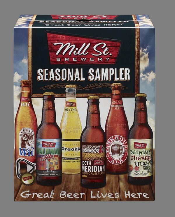 Mill St Seasonal Sampler