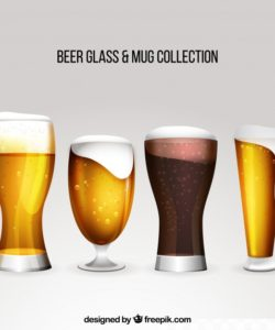 realistic-beer-glass-mug-collection_23-2147739178
